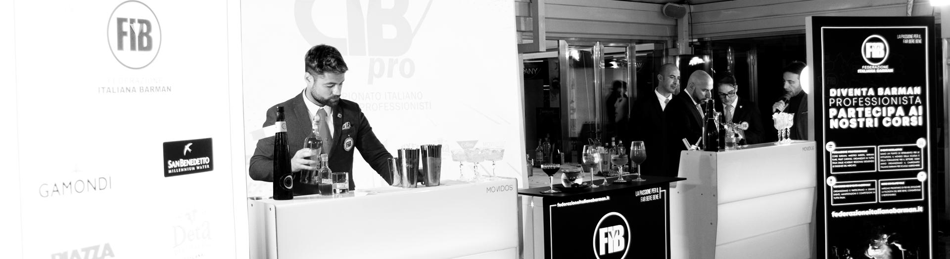 Affidati alla professionalità dei barman di Federazione Italiana Barman