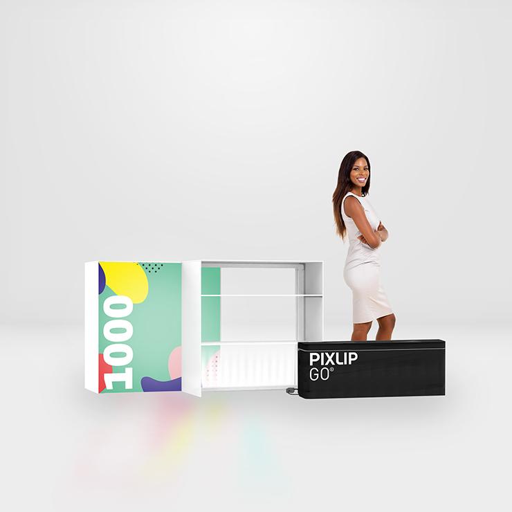 GO Lightbox Counter L 100 x 100 cm