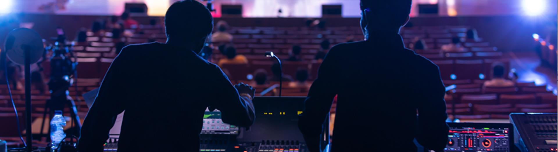 Gestione di qualsiasi tipo di service Audio Video con tecnici altamente qualificati