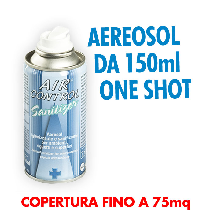 Bombola da 150 ml One Shot sanificante