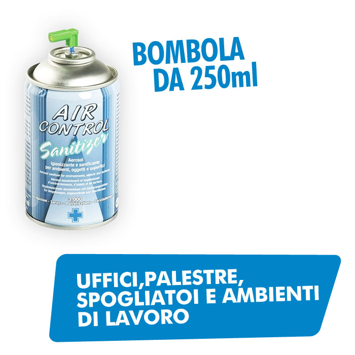 Bombola 250ml sanificante
